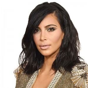 Kim Kardashian Bob Haircut Brazilian Virgin Human Hair Full Lace Wig