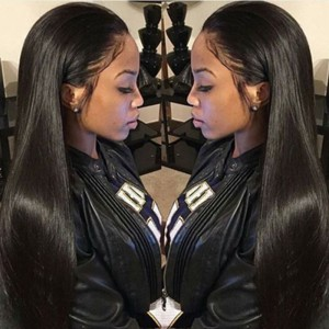 Straight 360 Lace Frontal Wigs100% Human Hair Wigs Natural Hair Line Wigs Full Lace Wig