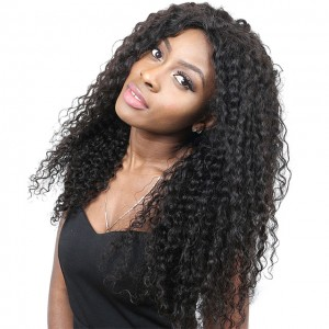 13x6 Lace Front Human Hair Wigs For Women Pre-Plucked 250% Density Brazilian Curly Human Hair Wig With Baby Hair ComingBuy Remy