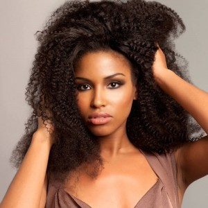 250% Density Full Lace Human Hair Wigs Mongolian Afro Kinky curly Lace Front Wig for Black Women