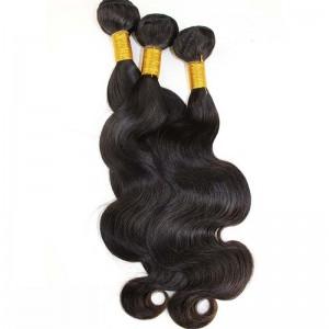 Natural Color Brazilian Virgin Hair Body Wave Hair Extensions 3 Bundles