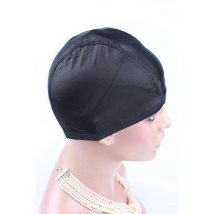 1Pcs Spandex Net Elastic Dome Wig Cap Glueless Hair Net Wig Liner