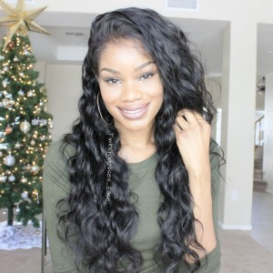 250% Lace Front human Hair Wigs Body Wave Glueless Full Lace Human Hair Wigs with Baby Hair Natural Hair Line
