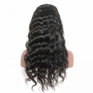 Natural Color Body Wave U Part Wigs 100% Unprocessed Brazilian Virgin Human Hair