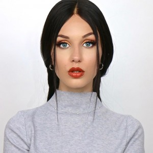 Invisilace Wig straight Pre Plucked Full Lace Wig Human Hair