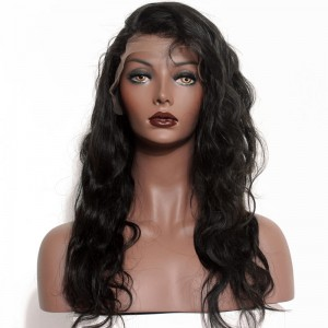 360 Lace Wigs Brazilian Virgin Hair Body Wave Circular Full Lace Wigs 180% Density 100% Human Hair Wigs Natural Hair Line Wigs