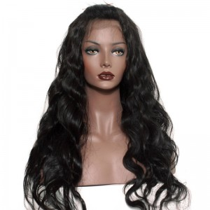 250% Density Wigs Pre-Plucked Human Hair Wigs Body Wave Natural Hair Line Glueless Full Lace Wigs