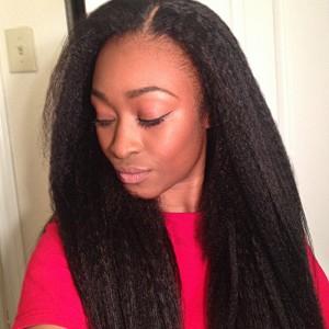 360 Lace Frontal Wigs Brazilian Virgin Hair Kinky Straight Full Lace Wigs 180% Density