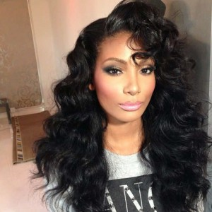 250% High Density Full Lace Human Hair Wigs with Baby Hair Lace Front Wigs