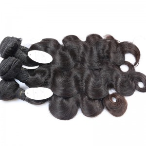 8A Brazilian Virgin Hair Body Wave Hair Extensions 100% Human Hair Weave Bundles