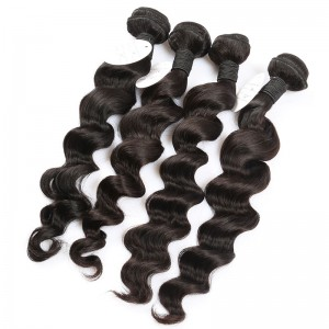 Loose Wave 100% Human Hair 8A Virgin Hair Extensions Brazilian Hair Weave Bundles