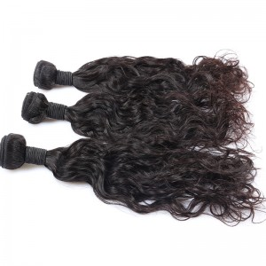 8A Brazilian Virgin Hair Natural Wave Hair Extensions 100% Human Hair Weave Bundles