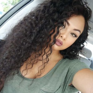 Pre Plucked 250% High Density Deep Curly Lace Front Human Hair Wigs for Black Women