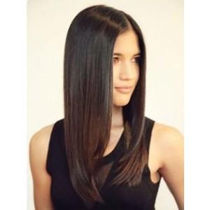 Natural Hair Line Brazilian Virgin Hair Straight 360 Lace Wigs 100% Human Hair Wigs