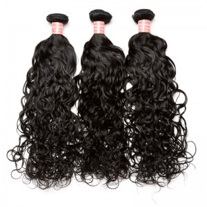Brazilian Virgin Hair Water Wave Hair Extensions 3 Bundles 100% Human Hair (