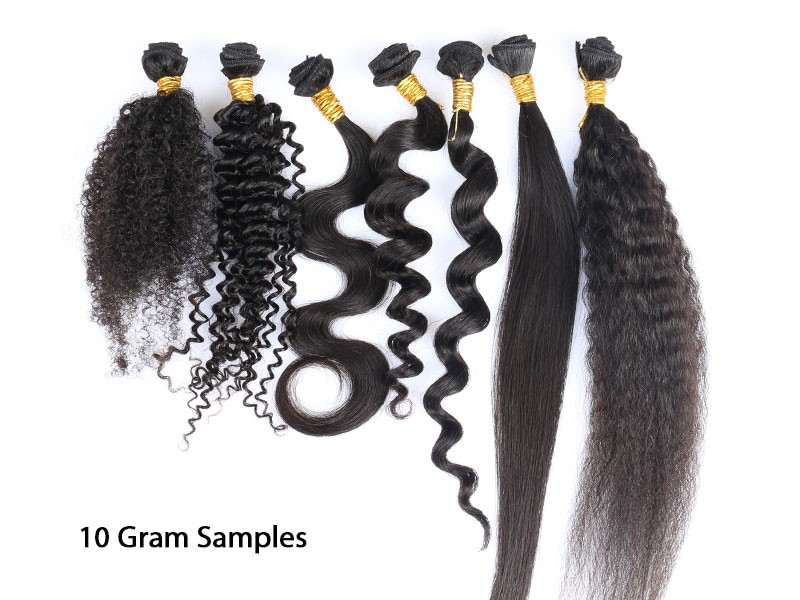 Sample Order For Wholesale 100% Human Hair Weave 1 Bundle ...