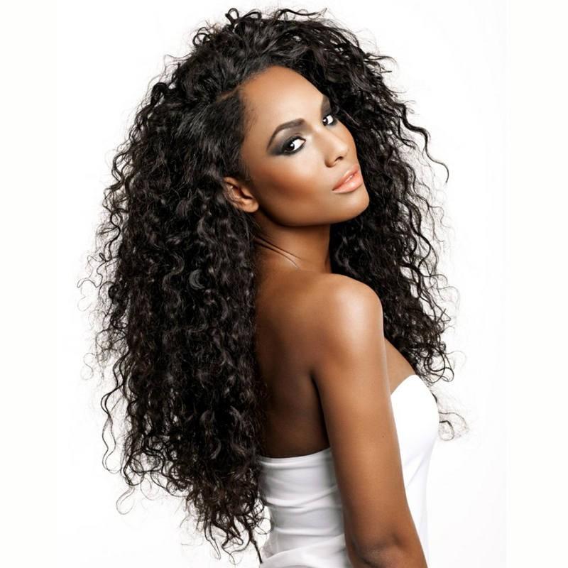 250 Density Wig Pre Plucked Natural Hair Line Deep Wave