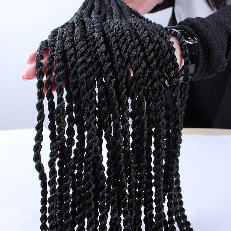 Crochet Hair Packs : Mambo Twist Crochet Braid Hair 18 70g/pack Synthetic Crochet Braids...