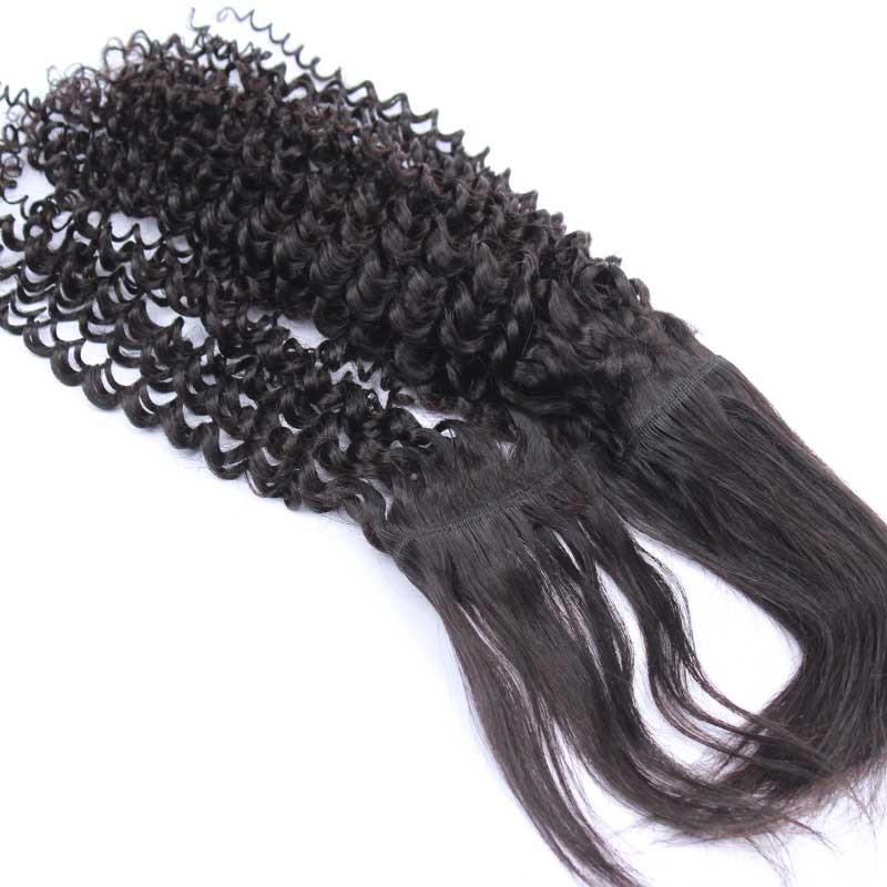 Natural Color Kinky Curly Braid In Bundle Hair Weaves Brazilian