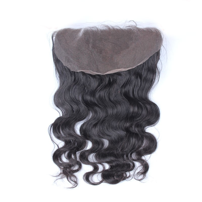 136 Lace Frontal With Natural Hairline Body Wave Brazilian Virgin