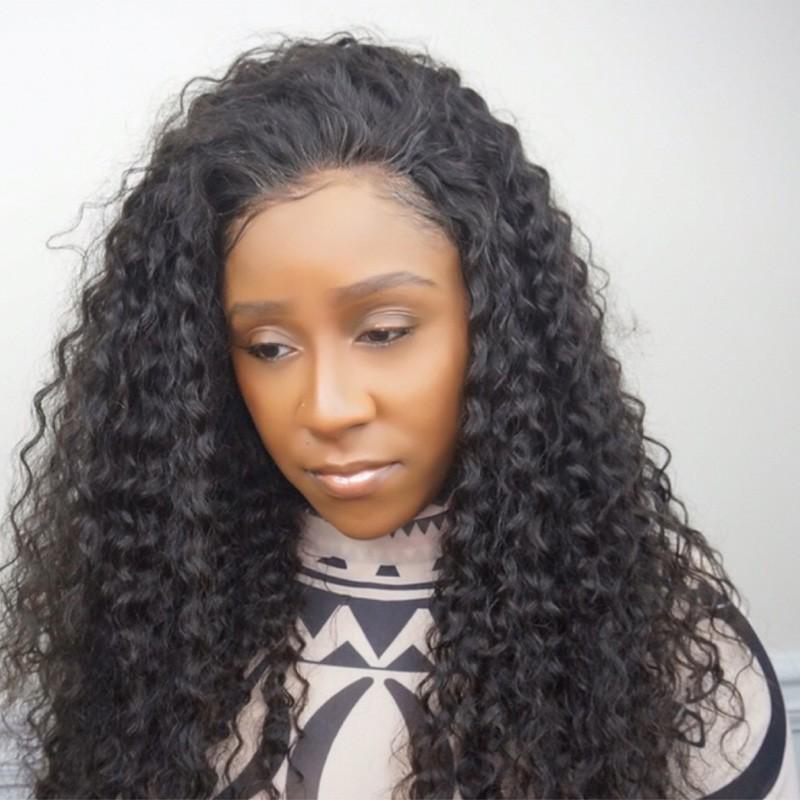 Indian remy hair Italian yaki silk top Bleached knots for Black women -bW0080