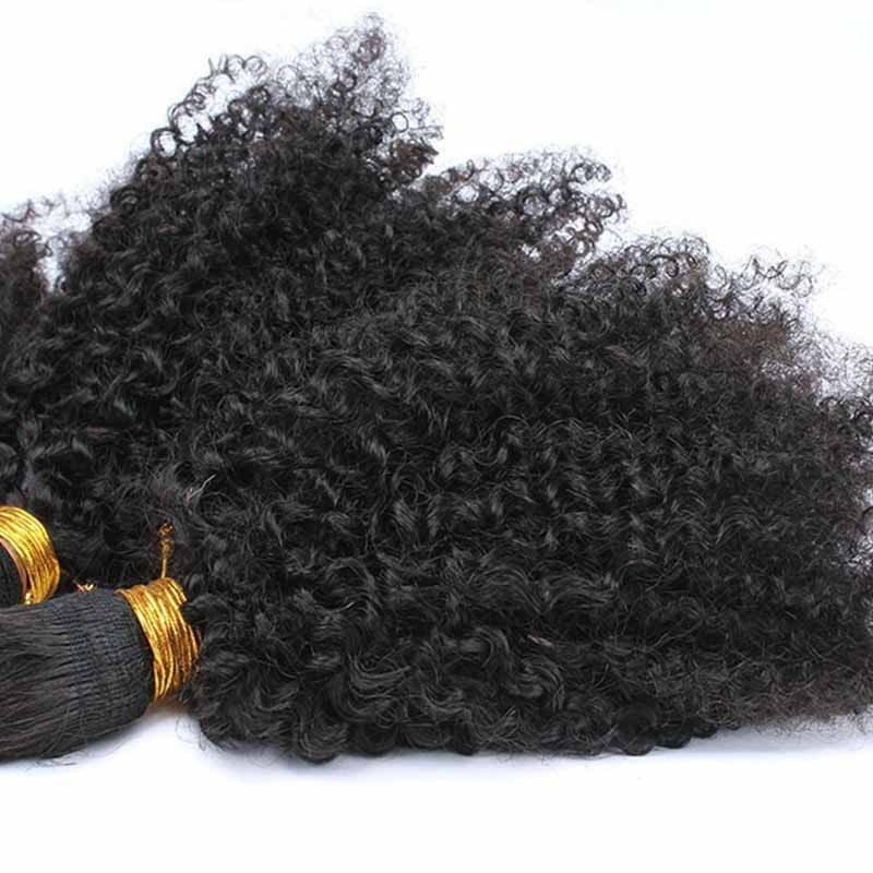 Afro Kinky Curly Mongolian Virgin Hair Clip In Human Hair Extensions