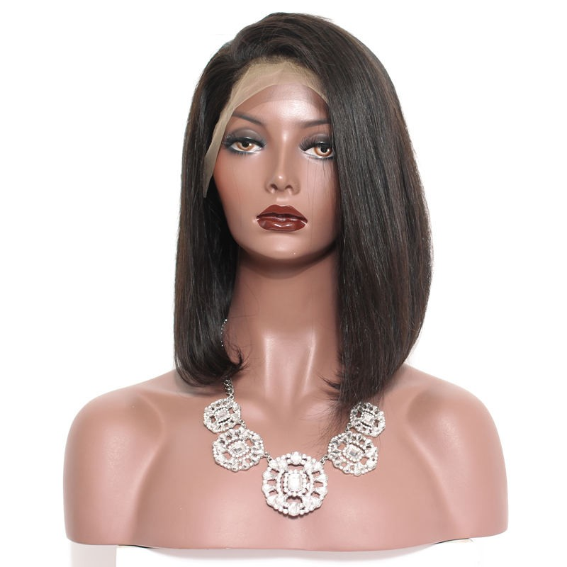 250 density wigs preplucked human hair lace front wigs