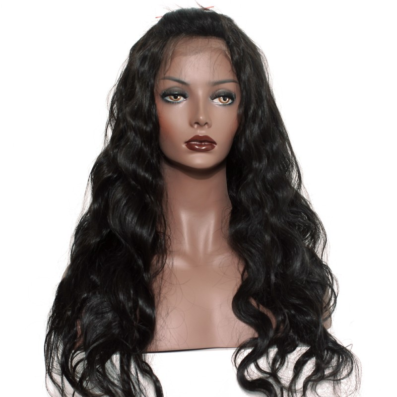 Trendy Beauty Hair 360 Lace Frontal With Baby Hair Peruvian Body Wave Free Part 360 Full Lace Closure Front Non-remy-hair Weave Grade Products According To Quality Hair Extensions & Wigs Closures