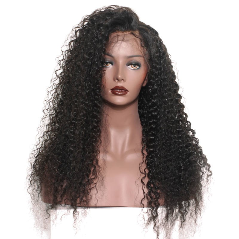 250 Density Brazilian Virgin Human Hair Deep Curly