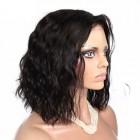 180% Density 360  Lace Wigs Loose Wave Bob Style Brazilian Virgin Hair Full Lace Wigs