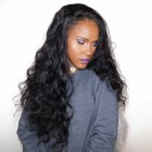 Natural Color Malaysian Virgin Human Hair Wig Body Wave Lace Front Wigs