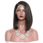 Durable 250% Density Wigs Human Hair Lace Front Wigs Black Women Chic BOB Wig Style