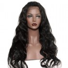 Body wave Glueless Lace Front  Wigs 250% Density Lace Front Human Hair Wigs Brazilian Virgin Human Hair