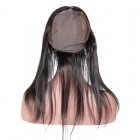 LU Frontal Silky Straight 13*4 Lace Frontal with 360 Circular Hair Cap Brazilian Virgin Hair Lace Frontal With Bundles