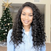 360 Circular Lace Wigs Loose Wave Brazilian Virgin Hair Full Lace Wigs 180% Density 100% Human Hair Wigs Natural Hair Line Wigs