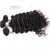 Best Brazilian Virgin Hair Deep Wave Hair Extensions 3 Bundles 100% Human Hair