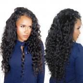 Natural Color Loose Wave Hair Extensions Brazilian Virgin Human Hair Weave 3 Bundles