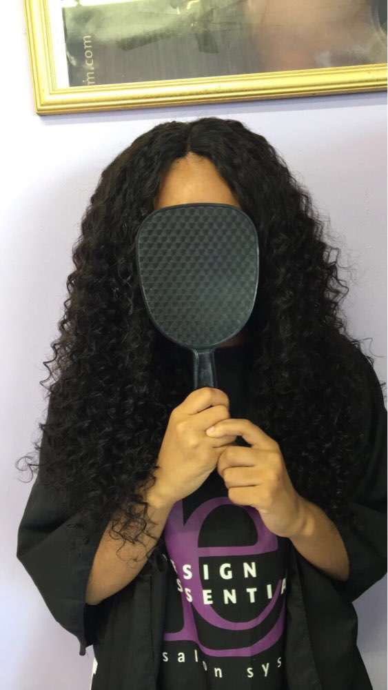 360 Frontal Closure With 3 Bundles Deep Wave Brazilian Virgin Hair 360 Lace Band Frontal Closure