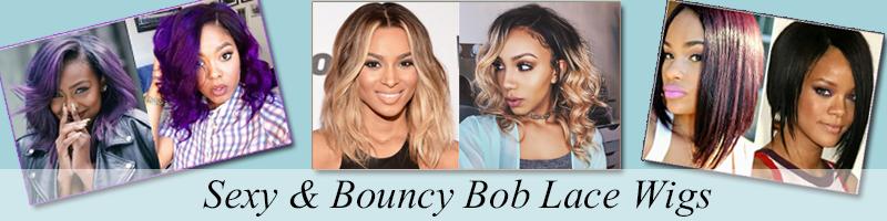 Bob Style Lace Wigs