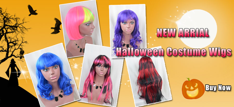Comingbuy Halloween Costume Wigs
