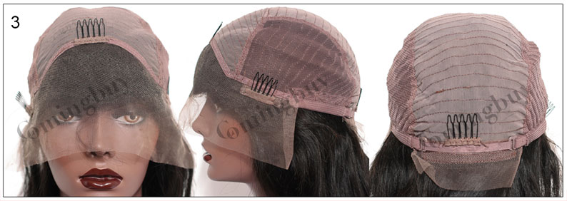 ComingBuy.com full lace wig cap,Full Lace with Stretch from ear to ear,cap3